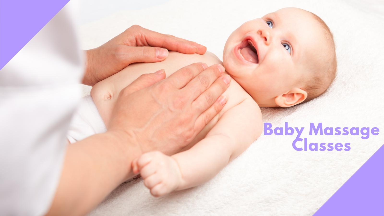 Baby Massage Classes April Dates
